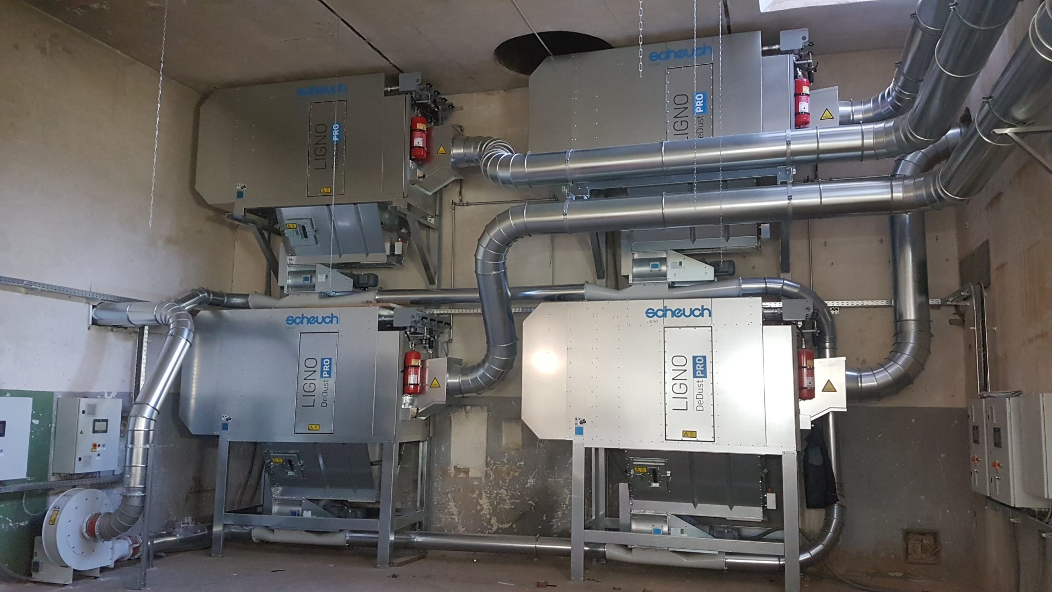 Ligno Dedust Pro Deduster Electrical Wiring And Piping Norer Tischlerei Gmbh